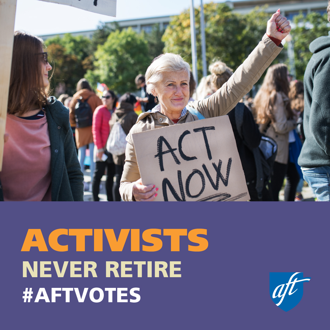 Activists Never Retire