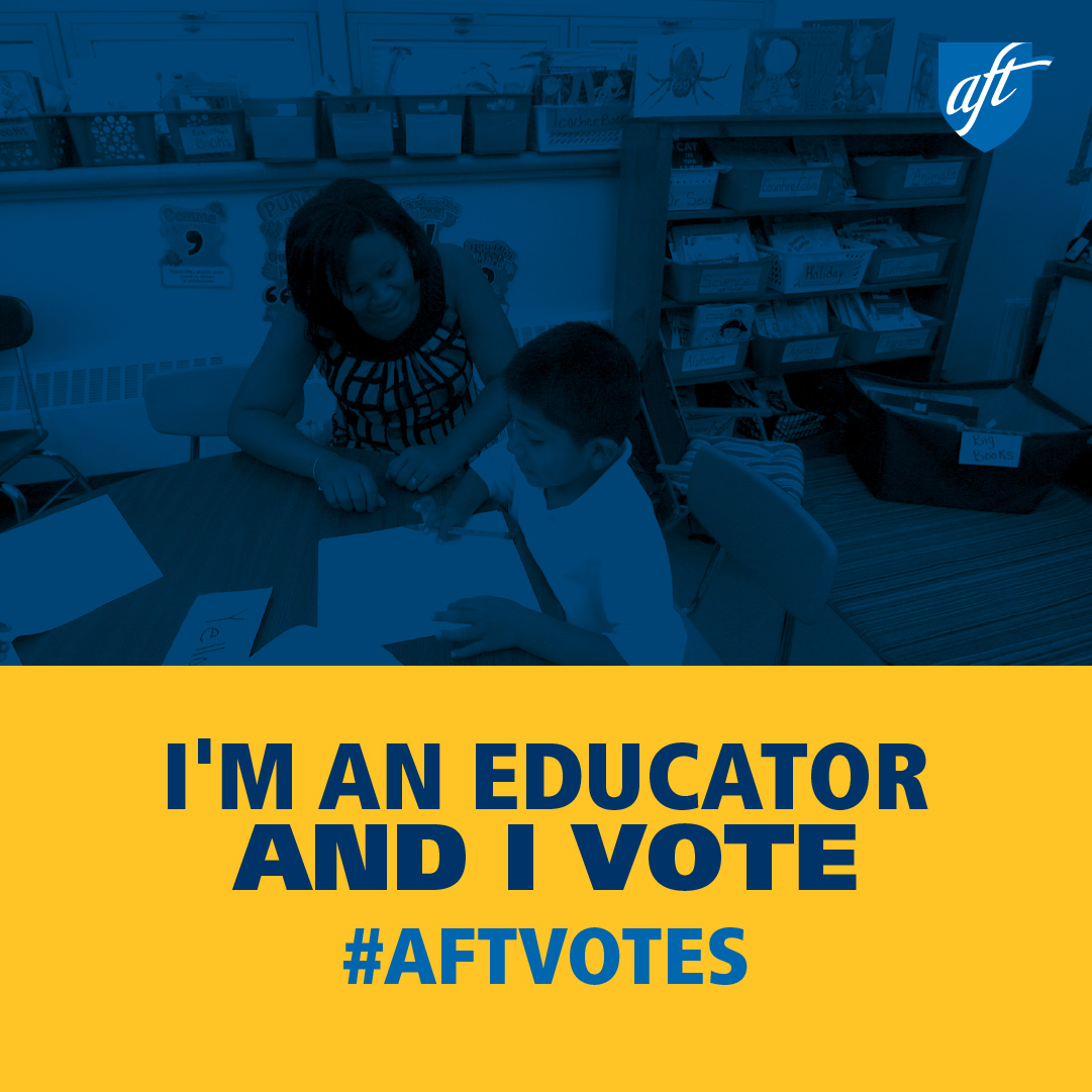 I'm an Educator and I Vote