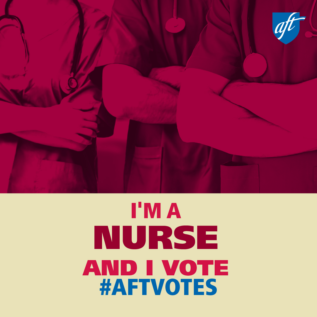 I'm a Nurse and I Vote