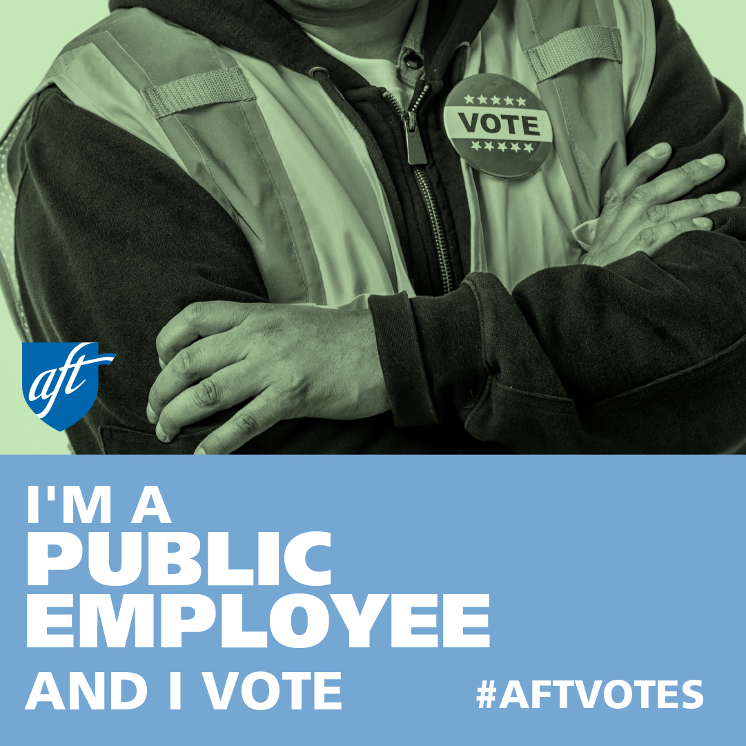I'm a Public Employee and I Vote