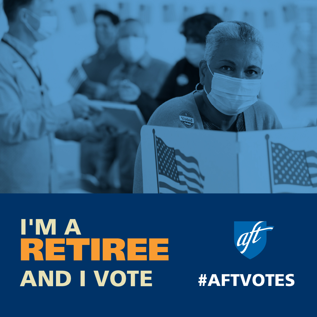 I'm a Retiree and I Vote