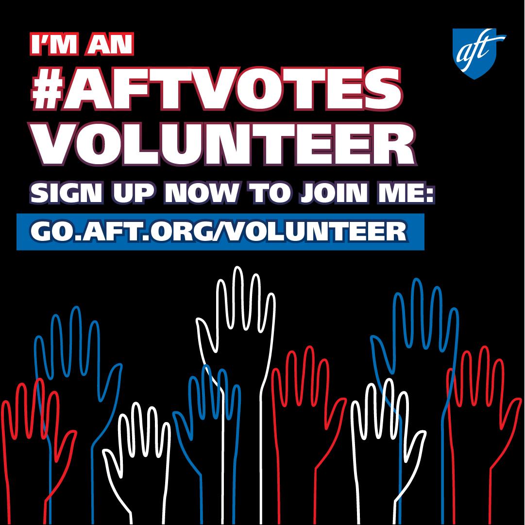 AFTvotes Volunteer